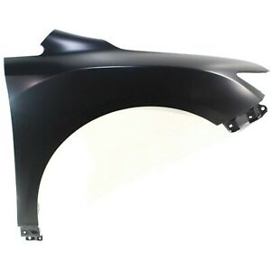 Fender For 2009 2016 Toyota Venza Front Right Primed Steel W Molding Holes Capa