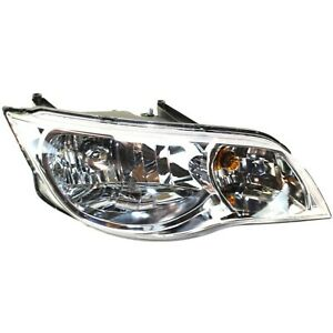 Headlight For 2003 2004 2005 2006 2007 Saturn Ion Coupe Right With Bulb