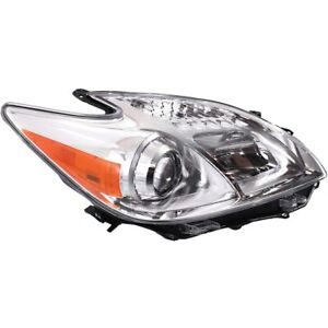 Headlight For 2012 2015 Toyota Prius Passenger Side