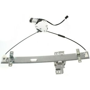 Power Window Regulator For 98 2004 Isuzu Rodeo Front Driver Side With Motor