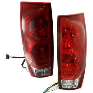 Set Of 2 Tail Light For 2002 2005 Chevrolet Avalanche 1500 Lh Rh