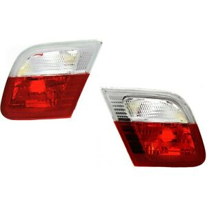Reverse Inner Taillamp Taillight Pair Set For 323ci 325ci 328ci 330ci M3 Coupe