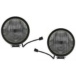 Set Of 2 Clear Lens Fog Light For 2005 06 Jeep Liberty Lh Rh Renegade Capa