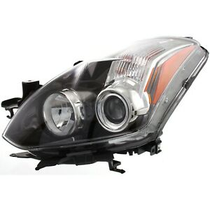 Headlight For 2010 2013 Nissan Altima Coupe Driver Side W Bulb
