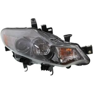 Headlight For 2009 2012 2013 2014 Nissan Murano Right With Bulb
