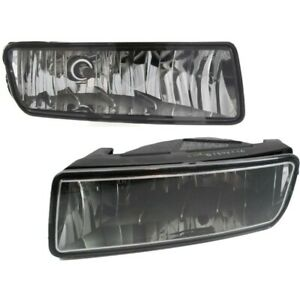 Set Of 2 Clear Lens Fog Light For 2004 06 Ford Expedition Lh Rh Capa W Bulbs