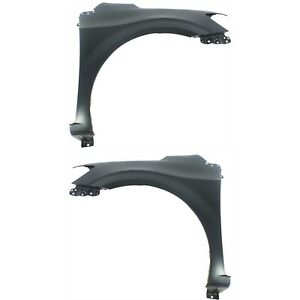 Fender For 2012 2016 Chevrolet Sonic Set Of 2 Front Left Right Primed Steel