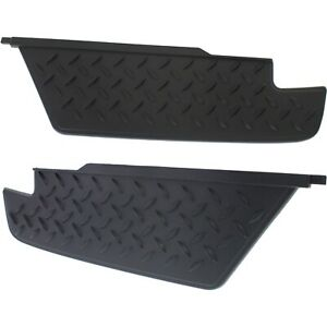 Bumper Step Pad Set For 2004 2012 Chevrolet Colorado 2004 12 Gmc Canyon Rear 2pc