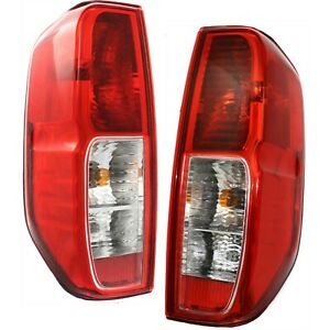 Set Of 2 Tail Light For 2005 2010 Nissan Frontier Se Lh Rh W Bulb S