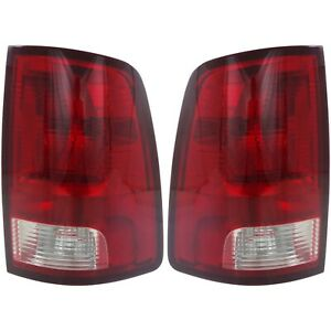 Pair Tail Light For 2011 2012 Ram 1500 2009 2010 Dodge Ram 1500 Assembly Capa