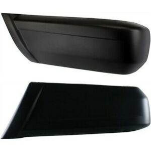Bumper End Caps For 1997 2001 Jeep Cherokee Set Of 2 Rear Textured