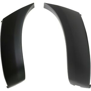 Bumper End Caps For 2005 2011 Toyota Tacoma Set Of 2 Front Primed