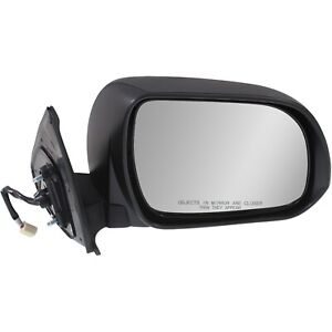Power Mirror For 2012 2015 Toyota Tacoma Manual Folding Textured Black Right