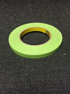 3m 26332 1 2 Green Masking Tape 26332 Green 1 Roll 3m 26332