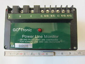 Gotronic 559100 220v 3 Powerline Monitor New