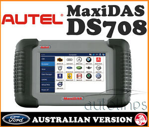 Software Update Autel Maxidas Ds708 Pro Auto Vehicle System Diagnostic Scanner