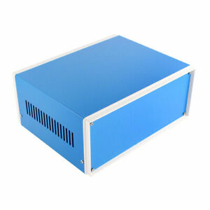 Blue Electronic Project Box Junction Enclosure Shell Case 228 X 186 X 96mm