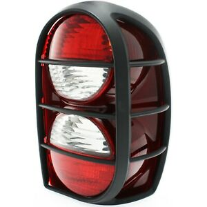 Tail Light Passenger Side W Guard For 2005 2006 Jeep Liberty Renegade Model