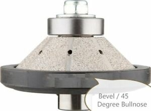 2 Pcs 1 1 4 Bevel bullnose Diamond Router Bit Granite Concrete Countertop Edge
