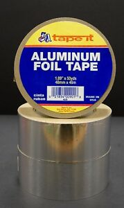 12 Rls Aluminum Tape 1 89 X 50 Yards Hvac Duct Al50