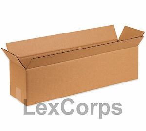 25 Qty 20x8x6 Shipping Boxes Lc Mailing Moving Cardboard Storage Packing