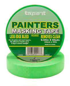 36 Rls 94 X 60 Yards Green Painters Masking Tape Pgm100
