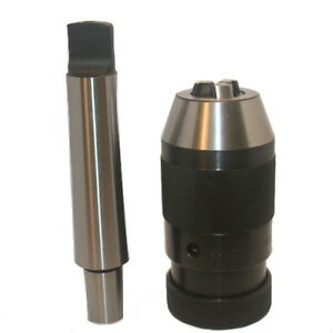 Mt3 With Tang J33 Drill Chuck Jt33 1 32 3 8 New