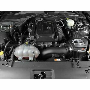Afe Power 2015 2017 Ford Mustang Ecoboost 2 3l Cold Air Intake Cai System Pro 5r