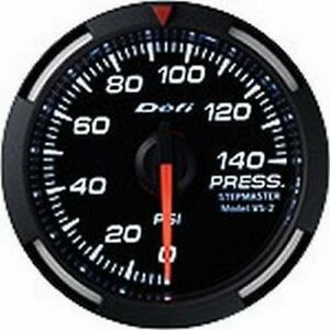 Defi White Racer Gauge 52 Press