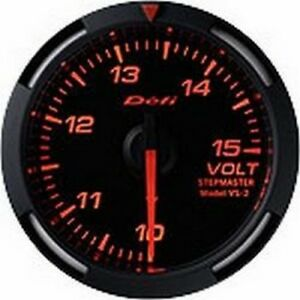 Defi Red Racer Gauge 52 Volt