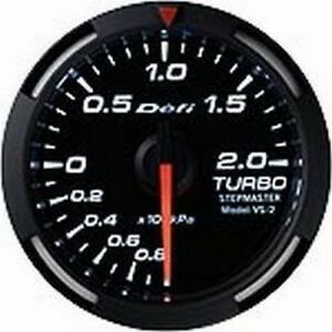 Defi White Racer Gauge Si 52 Turbo