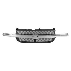 For Chevy Silverado 1500 Hd 2002 2003 Replace Gm1200523 Grille