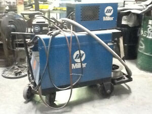Welder Miller Dial Arc Hf 200 230 460 Volts