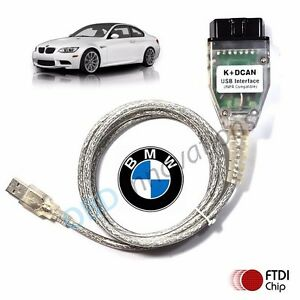 Bmw D Can Obd2 Usb Cable W Ftdi Ft232rl Bmw Tools Inpa Ediabas Ncs Expert