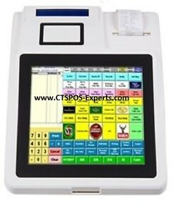New All In One Restaurant Bar Salon Retail Pos With Printer
