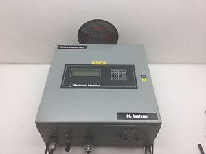 Particle Measuring System Stackmaster Cl2 50ppm Analyzer
