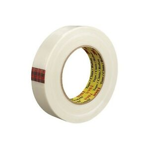 3m 8981 Strapping Tape 2 x60 Yds White 12 case