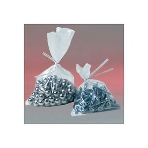 flat 6 Mil Poly Bags 3 x8 Clear 1000 case