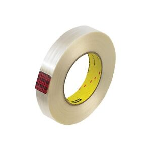 3m 890msr Strapping Tape 2 X 60 Yds White 24 case