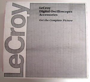 New Lecroy Pp066 Passive Probe 7 5 Ghz Including Sma To Bnc Adapter One Unit