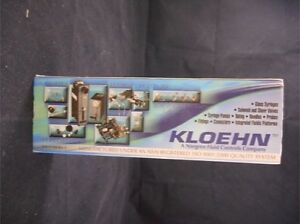 Norgen Kloehn Glass 1000ul 1ml 1cc Pump Syringe 25413 Boxed Use With V6 Pump