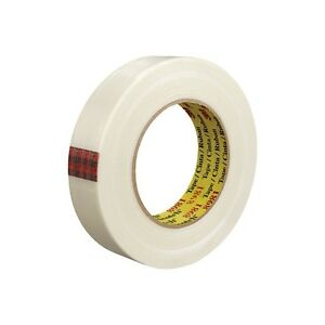 3m 8981 Strapping Tape 1 1 2 X 60 Yds White 12 case