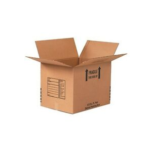 deluxe Packing Boxes 12 X 12 X 12 Kraft 25 each