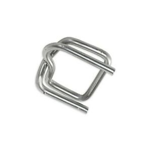 heavy duty Wire Poly Strapping Buckles 1 2 1000 case