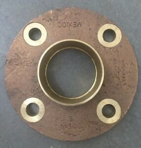 New Nibco 3 Bronze Companion Flange Cast B584 844 Class 150 Solder Joint Brass