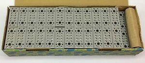 Phoenix 2716062 G5 6 Device Terminal Block 6 position box Of 50 New In Box