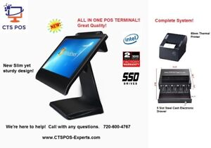 Bar Restaurant Retail Pos System Complete With Easy Zeus Software Brand New