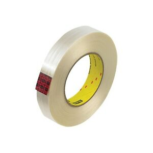 3m 890msr Strapping Tape 2 X 60 Yds White 12 case