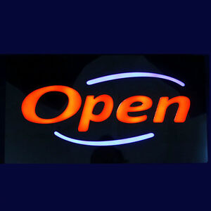 Bright Led Neon Light Animated Motion With On off Open Business Sign upscale