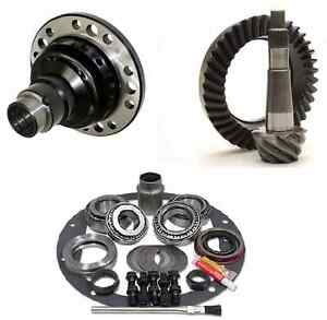 Jeep Yj Xj Dana 30 Reverse 4 56 Ring And Pinion Grip Pro Posi Gear Pkg